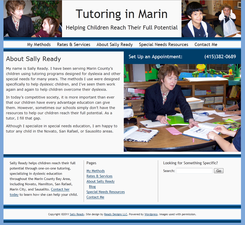 Tutoring in Marin Screenshot