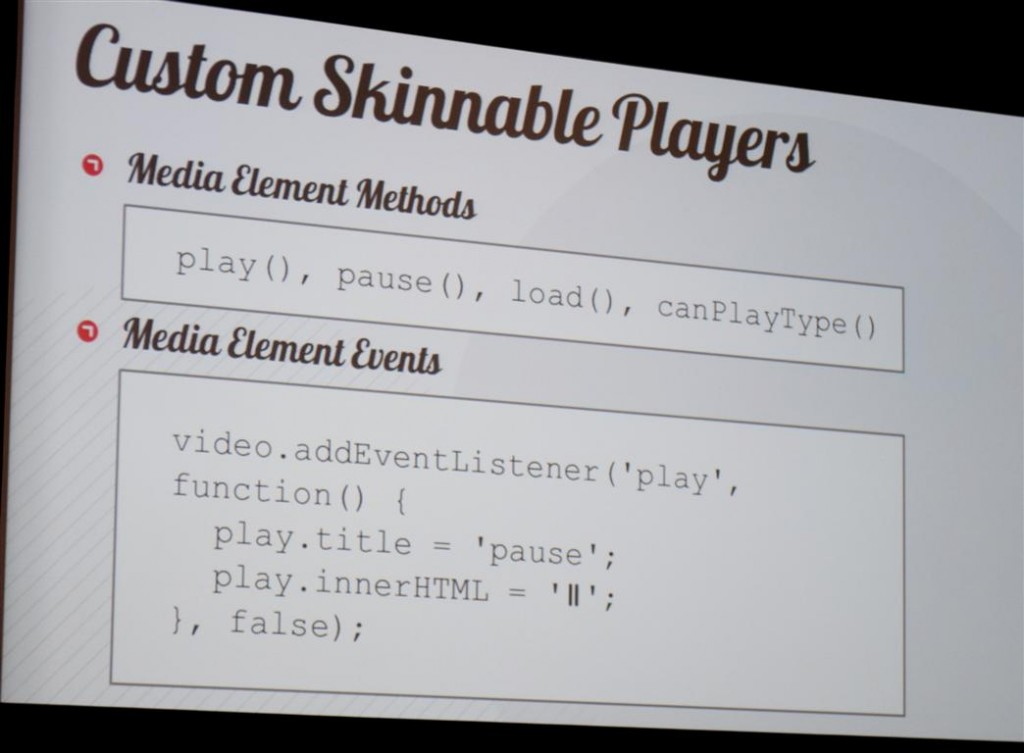 Custom Skinnable HTML5 Players