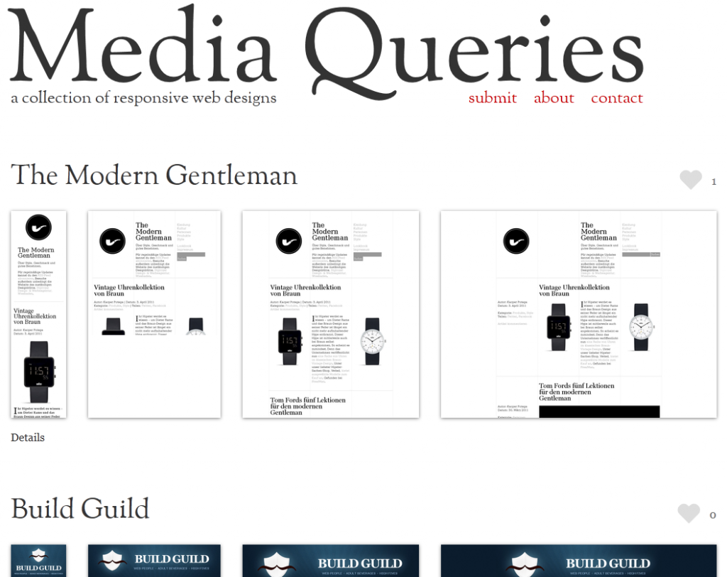 Media Queri.es Enthusiast Website